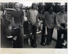 Albert Mangelsdorff, Bill Watrous, Slide Hampton, and Kai Winding - all famous jazz trombonists