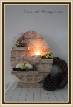 what a cute idea for an Ostara altar