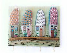 Ganchos de la pared llavero llavero de madera la por Vijolcenne