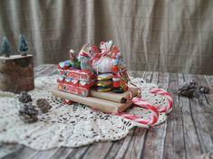 Creazione di #Progetti #Creativi con prodotti #Kinder per Natale 2016  #ContentCReation #DIY #ChristmasDIY #ChristmasDecorationDIY #SantaKlaus #ChocolateSleigh Advent, Christmas, Instagram, Xmas, Navidad, Noel, Natal, Kerst
