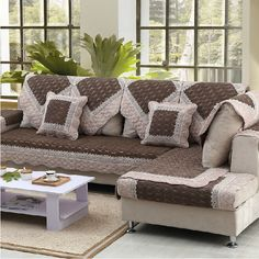 Colorful Couch Sofa Slipcovers Sofa Bed Sofa Covers Couches Cook Couch Slipcover Ideas For Decorating Gardens Sofa Pillows, Sofa Bed, Sofa Slipcovers, Colorful Couch, Luxury Sofa, Couch Covers, Decor Styles, Furniture Design, Living Room