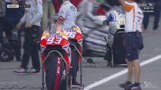 Holland Assen TT GP Warm Up - Honda 's in the Box  - #93 Marc Marquez - #26 Dani Pedrosa