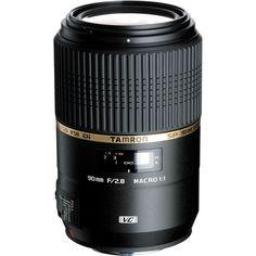 Tamron 90mm f/2.8 SP Di MACRO 1:1 VC USD Lens AFF004C-700 B&H