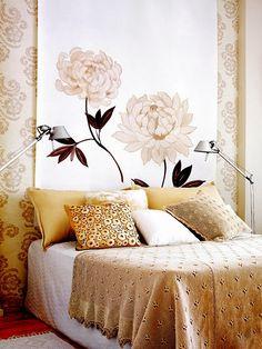 Gold & white patterns