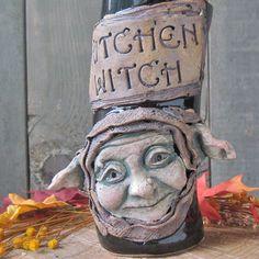 Kitchen Witch Vessel. $60.00, via Etsy.