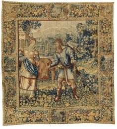 A Brussels historical tapestry mid-16th century | Lot | Sotheby's