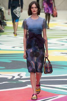 Burberry Prorsum printemps-été 2015 #mode #fashion