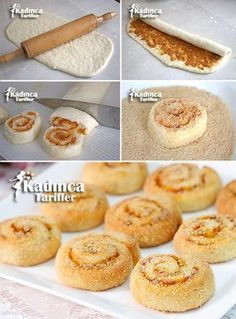 20 Different Types of Doughnuts You Need to Know and Taste - donut tattoos Bakery Recipes, Donut Recipes, Almond Recipes, Cookie Recipes, Delicious Donuts, Delicious Cake Recipes, Yummy Cakes, Iftar, Tea Time Snacks
