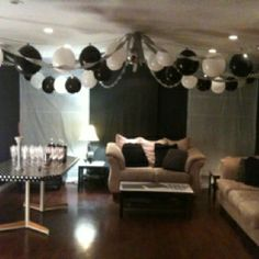 101 Best Black And White Event Images Adult Birthday Party