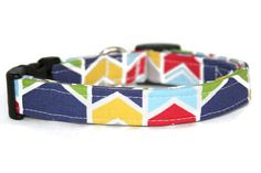 Geometric Chevron Dog Collar by ALeashACollar on Etsy Handmade Dog Collars, Handmade Gifts, Chevron, Trending Outfits, Unique Jewelry, Dogs, Vintage, Etsy, Fashion