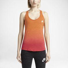 Damska koszulka bez rękawów Nike Gym Vintage Dip Dye