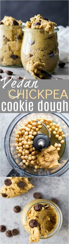 Vegan Chickpea Cooki