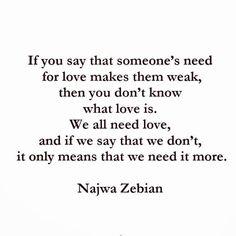 by @najwazebian on Instagram...