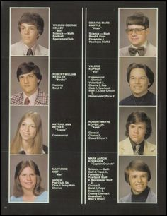 1979 Conemaugh Valley High School Yearbook via Classmates.com