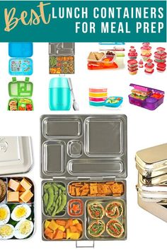 Sharing the best lunch containers that will keep your lunch at the right temperature and tasting fresh for hours! #sweetpeasandsaffron #mealprep Insulated Lunch Containers, Kids Lunch Containers, Meal Prep Containers, Slow Cooker Freezer Meals, Glass Food Storage, Food Jar, Lunch Meal Prep, Make Ahead Meals