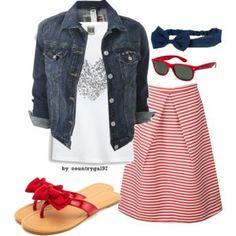 patriotic//summer style