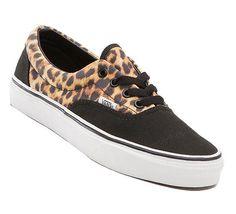 Vans - WMNS Era Leopard black / true white