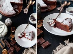 Gluten-free chocolate cake with beet root foodtastic -foodtastic Gluten Free Chocolate Cake, Austrian Recipes, Kakao, Beetroot, Beets, Panna Cotta, Waffles, Food Photography, Breakfast