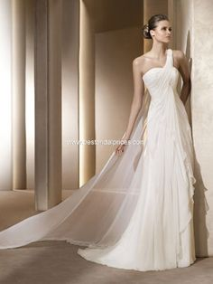 grecian wedding dressi love this