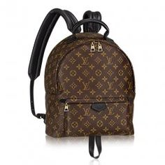 Authentic Louis Vuitton Monogram Canvas Palm Springs Backpack MM Handbag Article: Made in France Louis Vuitton Backpacks Louis Vuitton Monograme, Louis Vuitton Backpack, Vuitton Bag, Louis Vuitton Handbags, Louis Backpack, Palm Springs, Sacs Louis Vuiton, Sacs Design, Monogram Backpack
