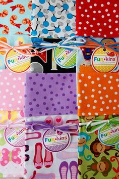 Enter to win these darling Funkins napkins from Weelicious! #WeeliciousGiveaways