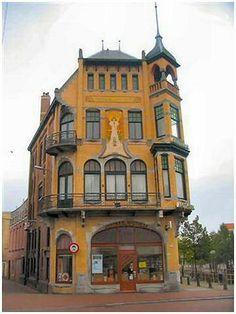 Voorstreek 58 - Architect G.B. Broekema. 1905, Leeuwarden, The Netherlands