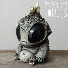 Crystal Bubblegut for Unseen Forces, open now at @strangerfactory. #unseenforces