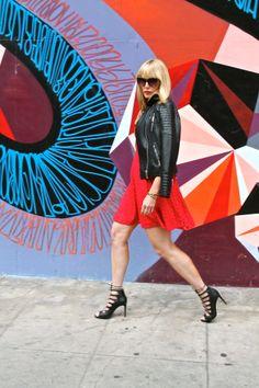 #jenknowsbest #jenandrews #streetstyle #style #red #eyelet @Nanette Veldsman Lepore @· ZARA · #streetstyle #style #blog #blogger #fashionblogger www.jenknowsbest.com