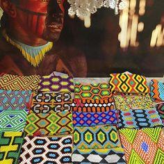 Craft Items, Ethiopia, Textiles, Textile Art, Beading Patterns, Pixel Art, South America, India, Needlework