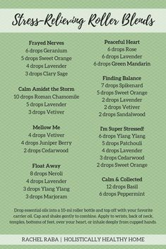 Want natural stress relief? Try out one of these stress-relieving roller bottle blends! They are so simple to make and can easily be taken with you anywhere! Stress Relief Essential Oils, Essential Oils Guide, Doterra Essential Oils, Essential Oils For Depression, Essential Oils For Anxiety, Roller Bottle Recipes, Ravintsara, Essential Oil Perfume, Essential Oil Diffuser Blends