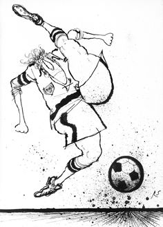 STRIKER by RONALD SEARLE