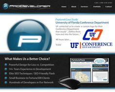 www.MyProDeveloper.com    ProDeveloper offers the nation's finest design for the best price. Our custom web designs and applications are superior to most development firms out there while charging almost half what top firms charge. Web Design Tampa by ProDeveloper.
