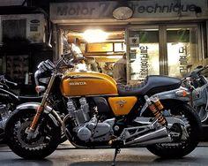 CB1100EX | Motorcycle - Hobby or Passion ? - RocketGarage - Cafe Racer Magazine