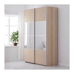 pax armoire penderie blanc bergsfjord blanc largeur 150 cm profondeur 66 cm hauteur 236 4. Black Bedroom Furniture Sets. Home Design Ideas