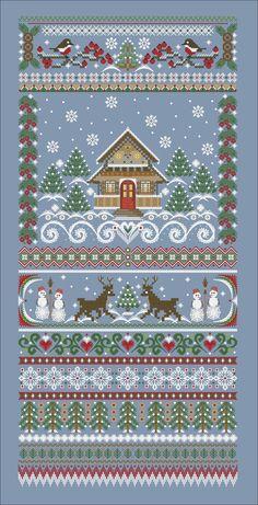 Cross Stitch Sampler Patterns, Cross Stitch Borders, Cross Stitch Samplers, Cross Stitch Designs, Fall Cross Stitch, Beaded Cross Stitch, Cross Stitch Embroidery, Embroidery Patterns, Hand Embroidery