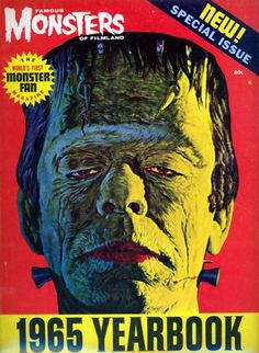 Famous Monsters of Filmland - 1965 Yearbook