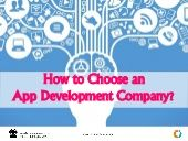 How to Choose an App Development Company?