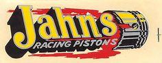 vintage Jahns piston decal