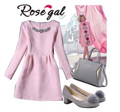 """Rosegal 23"" by esma-osmanovic ❤ liked on Polyvore"