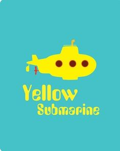 Yellow Submarine Print Beatles poster music by PrintableQuirks Ringo Starr, Festa Yellow Submarine, Beatles Party, Beatles Poster, Scenery Photography, The Fab Four, Mellow Yellow, All You Need Is Love, Under The Sea