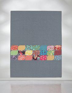 Petal Pod quilt by Jessica Kovach
