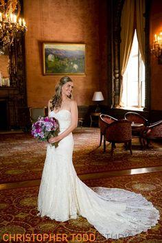 bride alone before ceremony at jonathan club ballroom los angeles wedding photographer