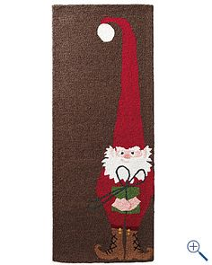I want a gnome rug for Christmas!!!