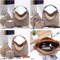 6355046bdd9d39 Tas Gucci SOHO Set #3363 Quality : Semipremium Bag Size: 31x14x29Cm Bahan :  Kanvas