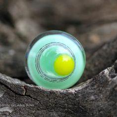 Gyűrű ékszer Glass Ring, Glass Jewelry, Gemstone Rings, Turquoise, Gemstones, Gems, Green Turquoise, Jewels, Minerals