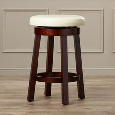 "Charlton Home Antley 24"" Bar Stool with Cushion & Reviews 