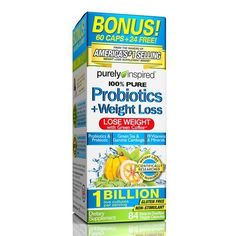 Purely Inspired® Probiotics and Weight Loss Supplement