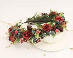 Wedding Flower Crowns and Bridal Headpieces от LisaUaShop на Etsy Floral Crown Wedding, Wedding Flowers, Deer Antlers Headband, Burgundy Flowers, Wrist Corsage, Flower Crowns, Bridal Headpieces, Wedding Accessories, Blush Pink