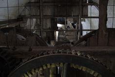 Engranajes que se encuentran dentro del Molino Forclaz