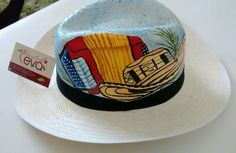 Hats, Carnival, Cute Hats, Shoes Sandals, Barranquilla, Blue Prints, Hipster Stuff, Hat, Hipster Hat